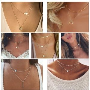 Jewelry - 20 pcs DIY Layered Choker Necklace for Women